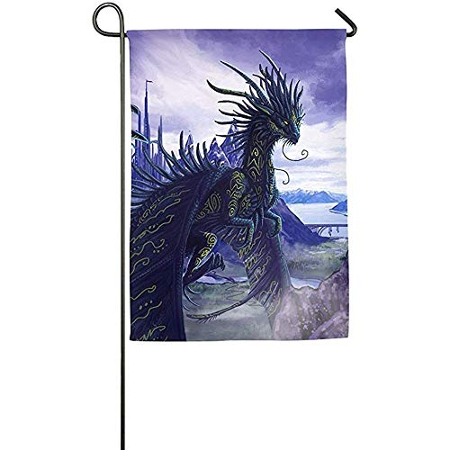 Dragon Category Garden Flag Indoor & Outdoor Decorative Flags for Parade Sports Game Family Party Wall Banner -