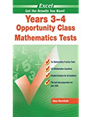 Excel Opportunity Class Mathematics Tests Years 3-4