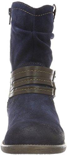Unbekannt Stiefelette, Botines para Mujer Azul - Blau (820 DK. DENIM)