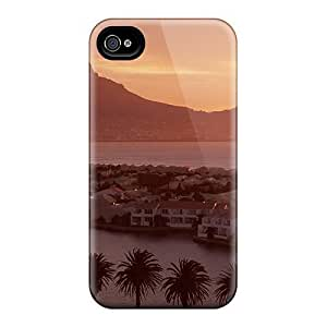 Durable Defender Case For iphone 5 5s Tpu Cover(table Top Mountain Over Cape Town So Africa)