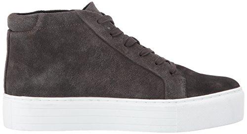 Kenneth Cole New York Kvinna Janette Hög Topp Snörning Plattform Mocka Mode Sneaker Asphault