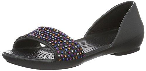 Bailarinas 35 Crocs Black EU Negro 204361 Mujer 34 Multi TxxPwR
