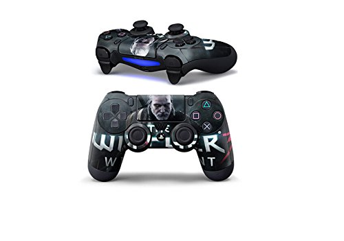 PS 4 Controller Decal Sticker Delicate Fashionable Personal Resistant to scratch Non-slip surface for Playstation 4 Controllers ( The Witcher )