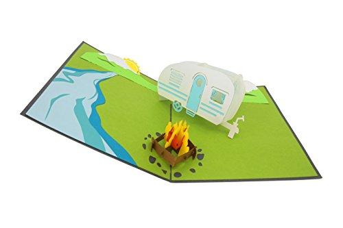 41uWRjXT%2BWL PopLife Cards Camping-Ausflug Pop-up-Karte - alle Gelegenheiten