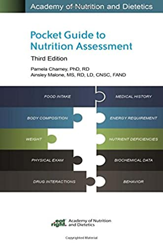 academy of nutrition and dietetics pocket guide to nutrition rh amazon com academy of nutrition and dietetics pocket guide to nutrition assessment 3rd ed Journal of Nutrition and Dietetics
