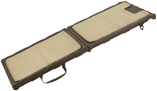 Gen7Pets Indoor Mini Carpet Pet Ramp for Dogs and Cats up to 200lbs – Lightweight, Compact and Portable with Premium Quality