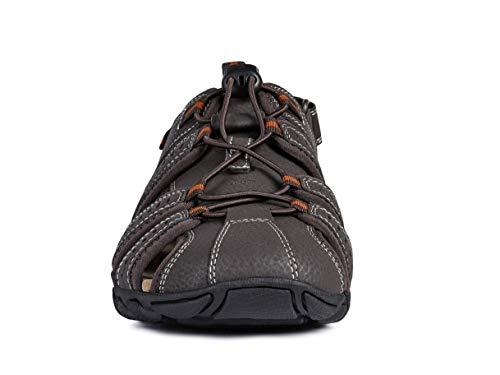 Sandalia Cerrada Geox Cerrada Con Geox Sandalia Velcro 47trw4qz