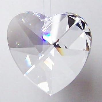 Swarovski® Crystal /'Leaf/' 40mm ~ Feng Shui Regenbogenkristall Lüster Suncatcher