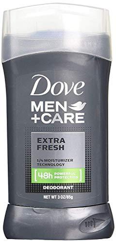Deodorant Stick Sensitive Care - Dove Men Plus Care Non Irritant Deodorant, Extra Fresh, 3.0 Ounce (Pack of 4)