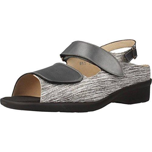 De Modelo 852T Menorca Color Mujer Marca Zapatos Mujer Cordones Plateado de Zapatos para Menorca TRIMAS TRIMAS Plateado para Cordones Plateado TaCqPz