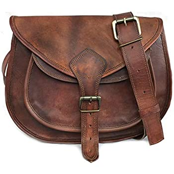 225de26ba 14 Inch Leather Purse Women Shoulder Bag Crossbody Satchel Ladies Tote  Travel Purse Genuine Leather