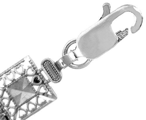 Petits Merveilles D'amour - 10 ct Or Blanc Bracelet - Alia Bracelet