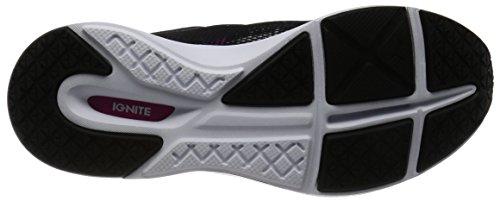 Puma Pulse Ignite Xt Swan Wns, Zapatillas Deportivas para Interior Mujer Negro (Puma Black-puma White-ultra Magenta 01)