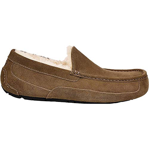 UGG Men's Ascot Slipper Dry Leaf Size 7 D(M) US, used for sale  Delivered anywhere in USA