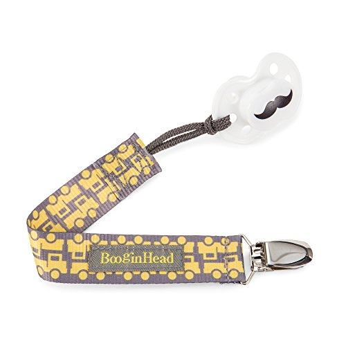 BooginHead PaciGrip Pacifier Holder Yellow