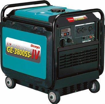 Denyo (デンヨー) 小型ガソリン発電機 GE-3800SS-IV 防音型