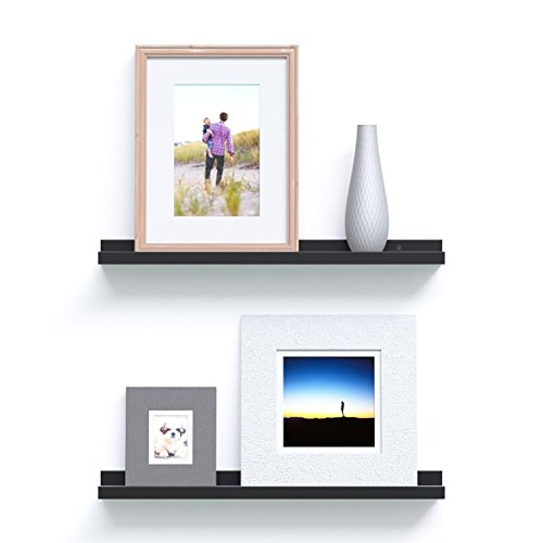 Denver Modern Floating Wall Ledge Shelf For Pictures And