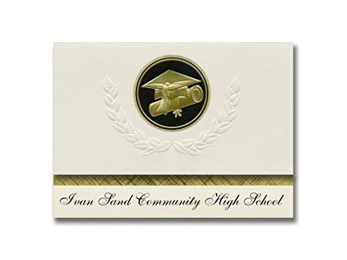 signature announcements Ivan arena High School de Comunidad (Alce Río, MN) presidencial estilo, Elite paquete de...