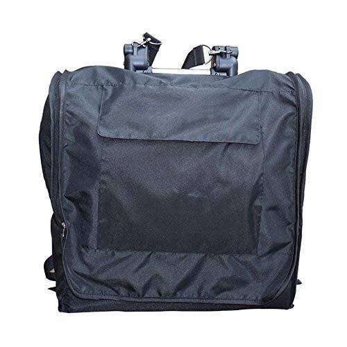 (fancystar Standard & Dual Stroller Storage Bag,Airplane Gate Check Travel Bag Backpack Shoulder Straps, Water Resistant - Great Airplane Car Trips)