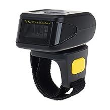 Eyoyo Portable Wearable Ring QR Bluetooth Wireless Barcode scanner 1D 2D mini bar code reader Support Scan PDF417 DataMatrix