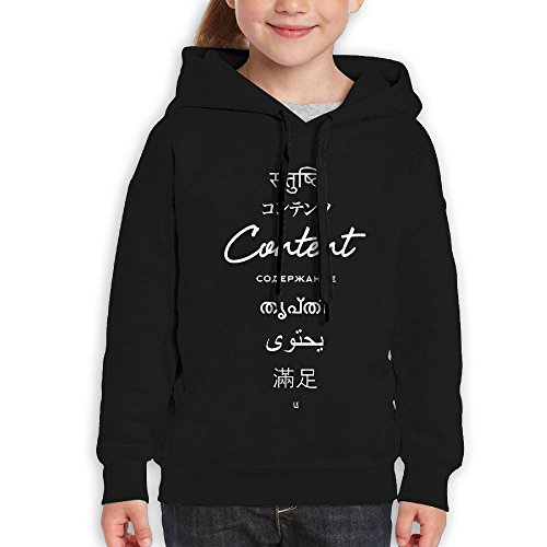 Nice Liza Girl Sweater Content Coexists Koshy Tops Hoodies 6-10 Years Old M