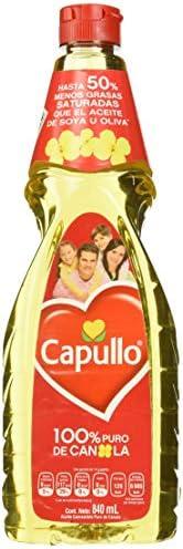 Capullo Aceite de Canola, 840 ml