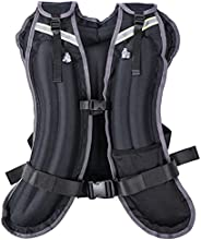 Climpic Portable Weighted Vest for Men Women, 4lbs/6lbs/8lbs/12lbs/16lbs/20lbs/24lbs Adjustable Body Weight Ve