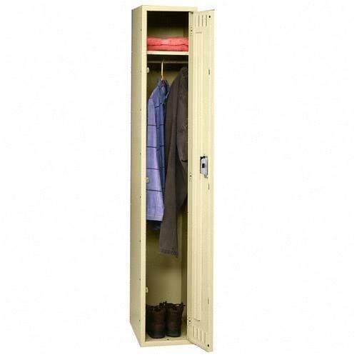 Tennsco Single Tier Locker, 12w x 18d x 72h, Sand (Tennsco Single)
