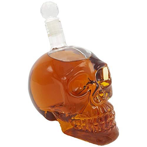 Witty Novelty Skull Decanter
