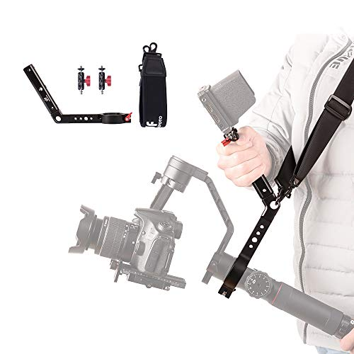 Terminator Hang Strap Mounting Clamp Accessories Reduce Arm Stress Compatible with ZHIYUN Crane 2 Gimbal Making It Like ZHIYUN WEEBILL LAB Crane 3 Setup Desgin
