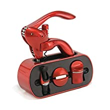 Houdini Wine Tool Stand (Metallic Red)