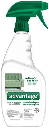 24 oz Advantage AG Advantage Household Spot and Crevice Spray Fleas Ticks Bedbugs Mites