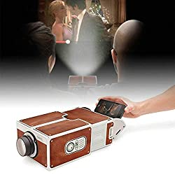 Pagacat Small Home Theater Diy Mobile Phone Projector Overhead Projectors