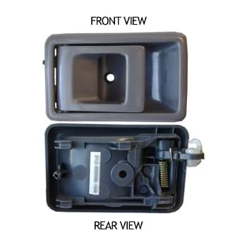Toyota Tacoma Gray Inside Front Driver Side Replacement Door Handle Automotive