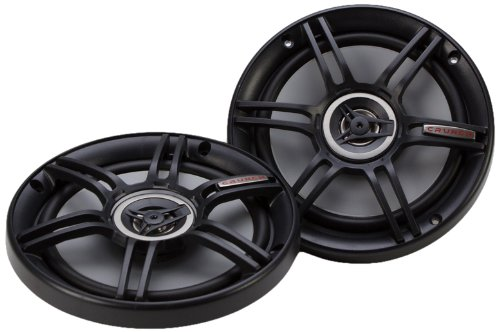 Crunch CS65CXS Full Range 3-Way Shallow Mount Car Speaker, 6.5