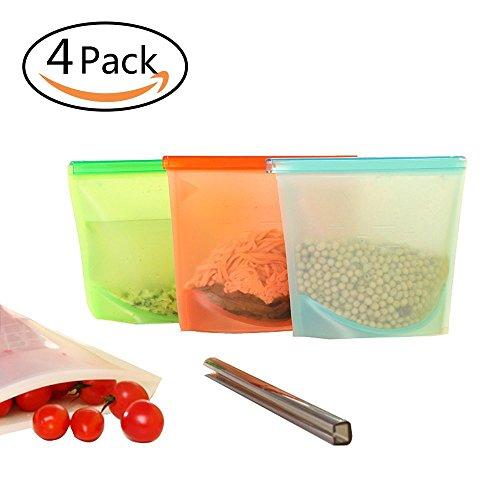 reusable freezer bags silicone - 2