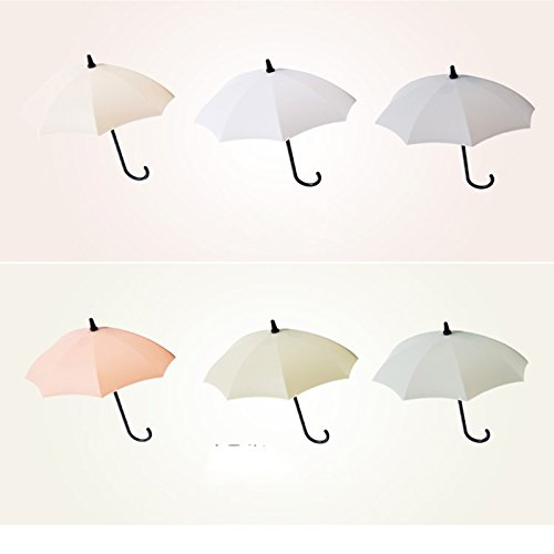 Gold Happy Umbrella Hooks Kitchen Bathroom Storage Container Wall Door Cabinet Decor Hanger Decorative Racks Home Decoration Lock