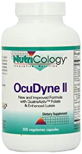 Nutricology Ocudyne II, Vegicaps, 200-Count