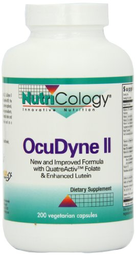 Nutricology Ocudyne II, Vegicaps, 200-Count