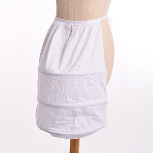 BLESSUME Victorian Dress Bustle White One size Photo #6