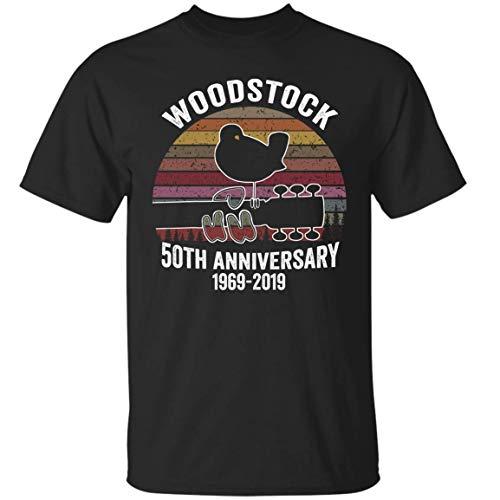 VADOBA Woodstock 50th Anniversary 1969 2019 Shirt Music Festival T-Shirt - Ladies Woodstock Tee