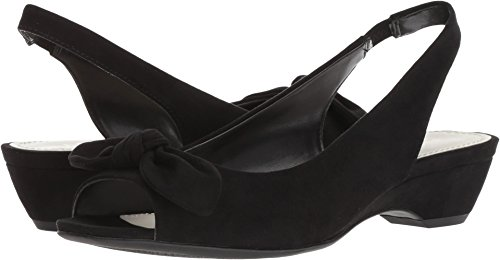 Anne Klein Women's Hazen Black Fabric 9 M US
