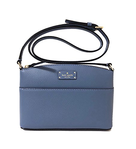Kate Spade New York Grove Street Millie Leather Shoulder Handbag Purse (Consell Blue)