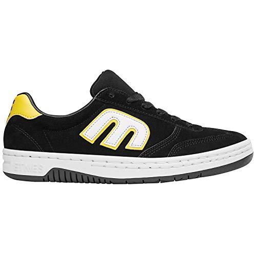 - Etnies Men's LOCUT Skate Shoe Black/White/Yellow 12 Medium US