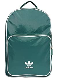 adidas Originals Unisex adicolor Classic Backpack, Collegiate Green/White, NS