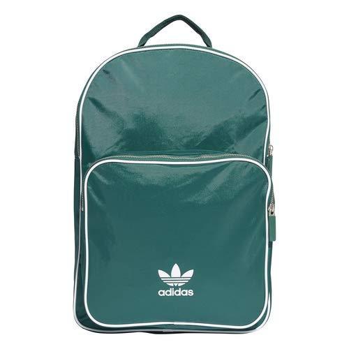 new york 995d6 3474e adidas Originals Unisex adicolor Classic Backpack, Collegiate Green White,  NS