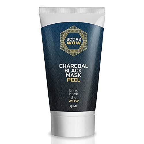 Active Wow Black Mask Peel - Activated Charcoal Blackhead Remover