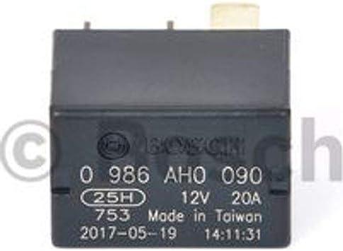 Bosch 0986ah0090 Micro Relais 12v 20a Ip5k4 Betriebstemperatur Von 40 Bis 125 Schließer Relais 4 Pins Auto