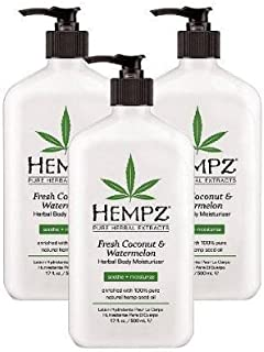 product image for Hempz Herbal Body Moisturizer Fresh Coconut & Watermelon 17 Oz - New (Pack of 3)