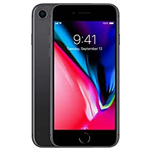 Apple iPhone 8 with FaceTime - 64GB, 4G LTE, Space Gray